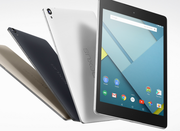 A la venta Nexus 9, primer tablet con Android Lollipop