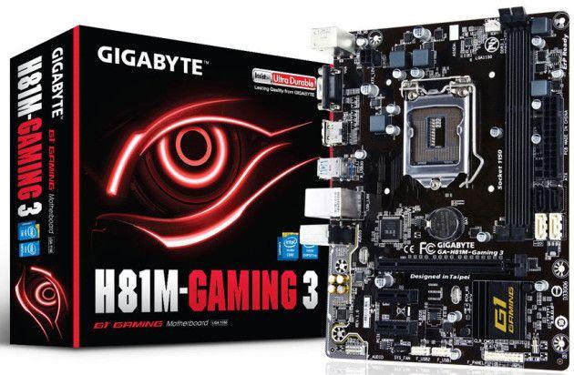 GIGABYTE lanza su nueva placa H81M Gaming 3, una solución económica