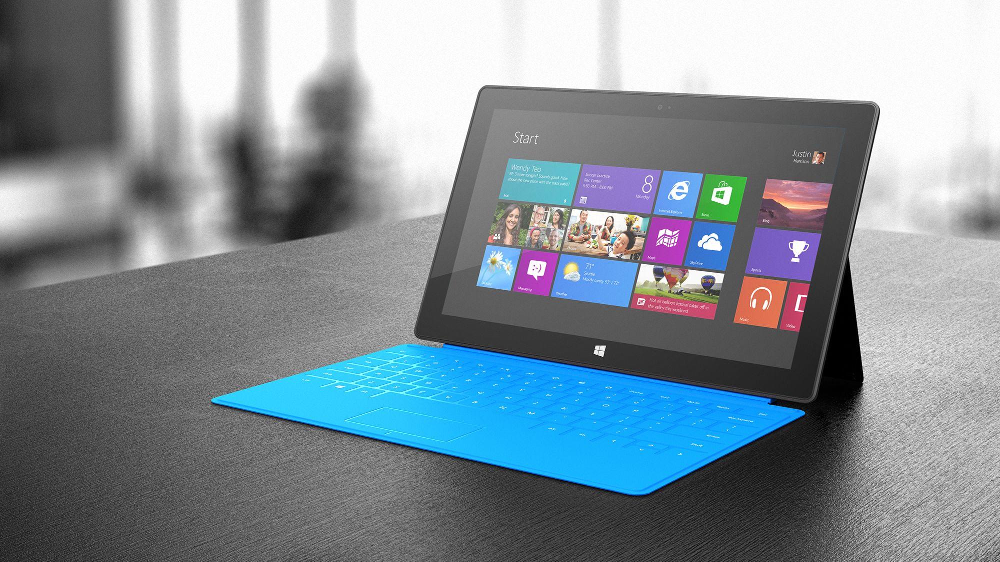 tablets ARM de Microsoft