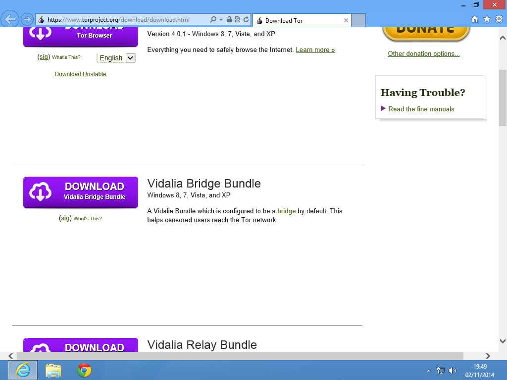 Descargar Vidalia Bundle Bridge