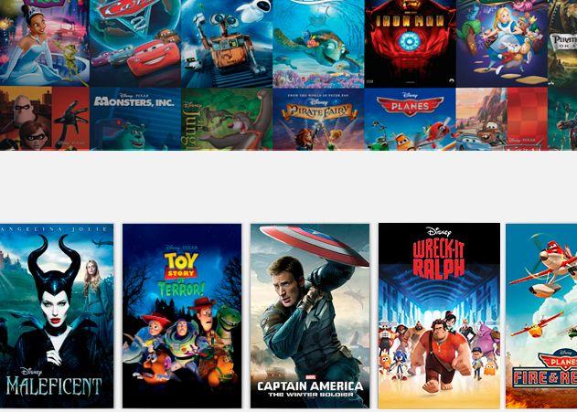 Acuerdo entre Google y Disney para llevar el catalogo de películas de esta útlima a Android
