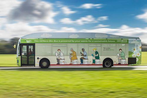 Autobús impulsado por heces humanas, una realidad en Inglaterra