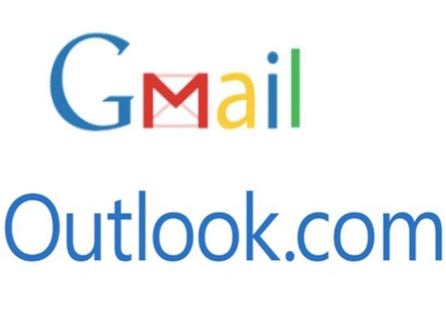 contactos Outlook y Gmail