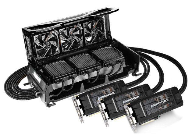 GTX 980 WaterForce Tri-SLI