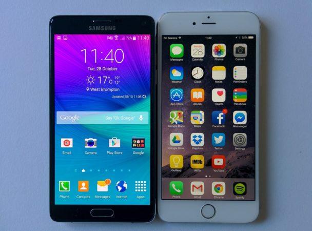 Galaxy Note 4 es el mejor phablet