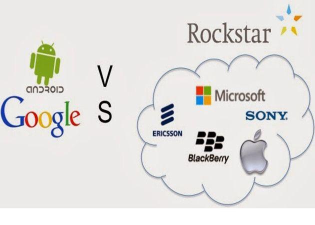 Google contra el consorcio de Rockstar