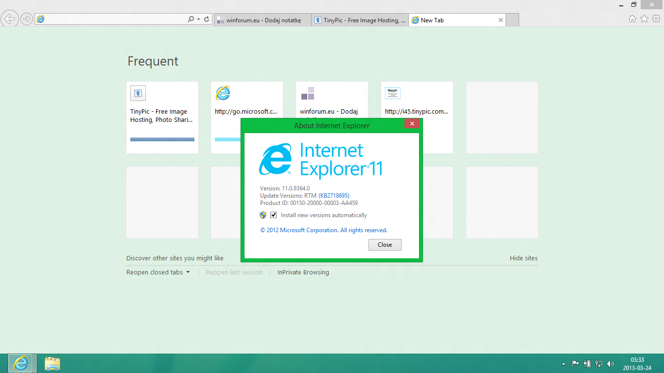 Internet Explorer 11 es el navegador más popular del mundo