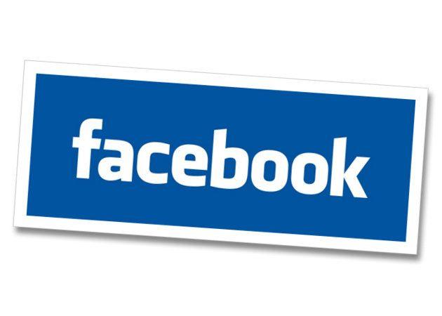 Logo Facebook daleado