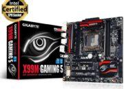 GIGABYTE X99M-Gaming 5, placa micro-ATX de gama alta