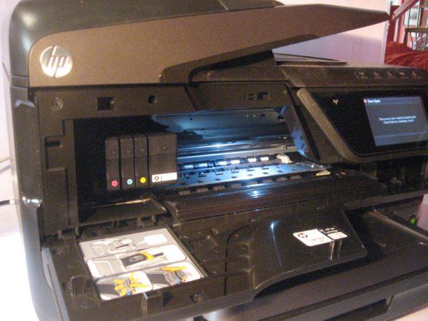 limpiar la impresora
