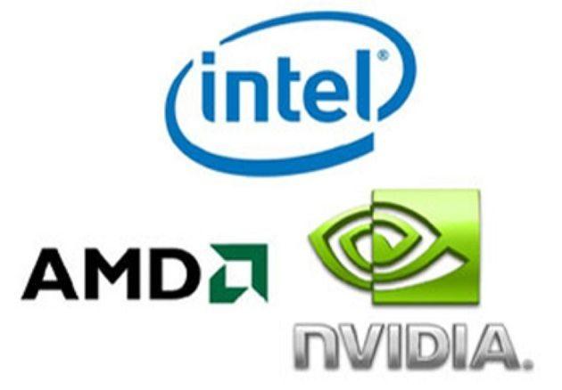 AMD, Intel y NVIDIA