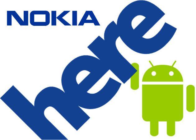 Nokia Here en Google Play para Android