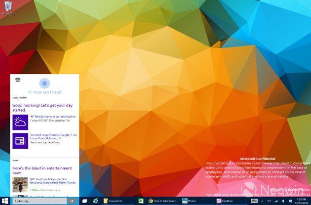 build 9901 de Windows 10