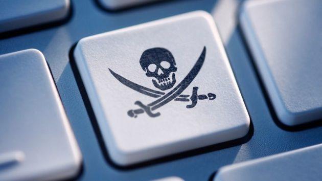 contra la piratería