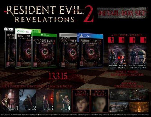 Fecha de lanzamiento y tráiler de Resident Evil Revelations 2