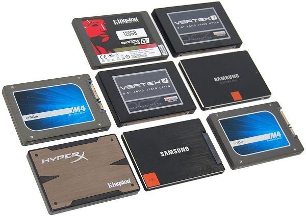 discos duros y SSDs