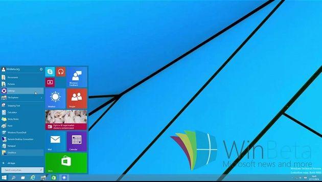 nueva build de Windows 10