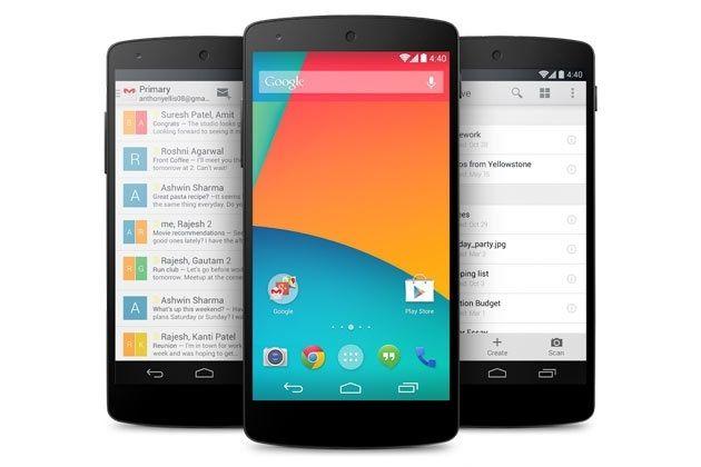 producir el Nexus 5