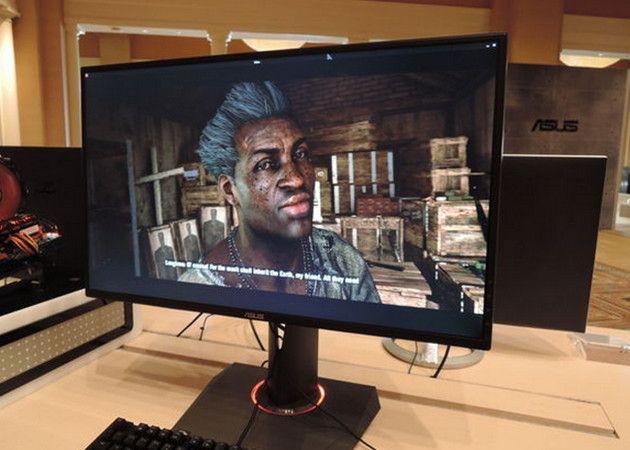 ASUS presenta monitor 4K con G-Sync para jugones exigentes