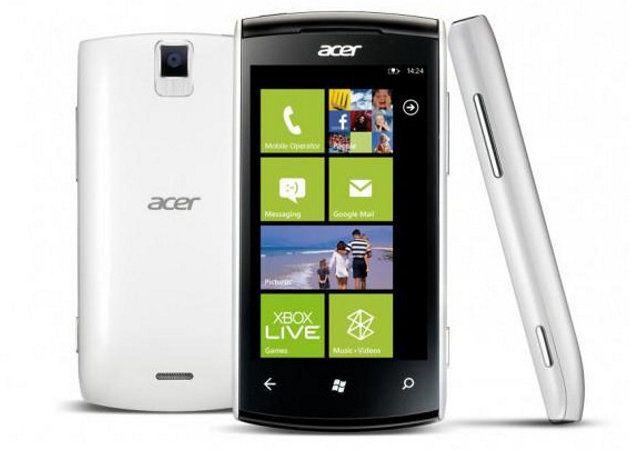 Acer volverá a lanzar smartphones con Windows Phone en marzo