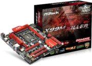 ASRock Fatal1ty X99M Killer, alto rendimiento y calidad a buen precio