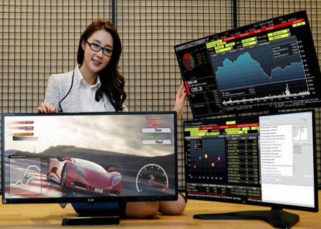 LG presentará en CES el primer monitor curvado QHD y ultrawide del mercado