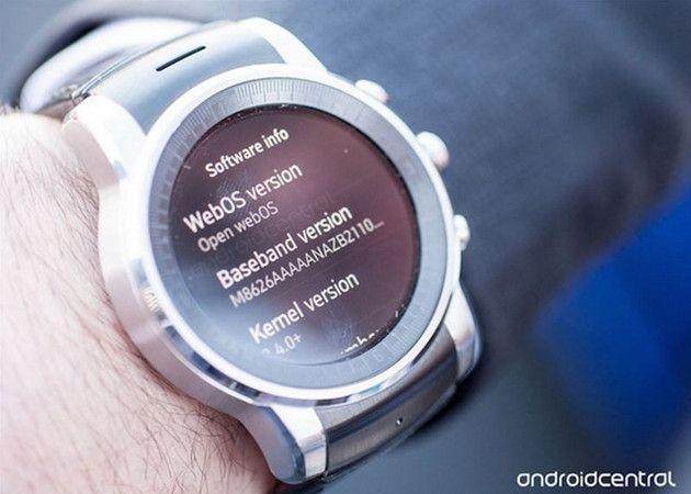 """""""Cazado"""" el Smart Watch LG con webOS ¿Adiós Android?"""