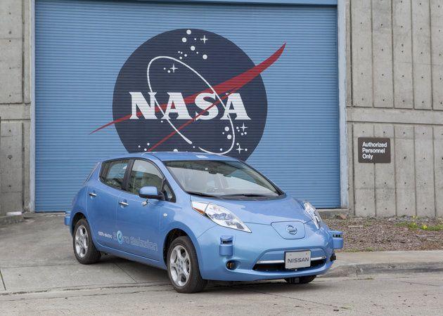 La NASA y Nissan se alían para crear coches autónomos y vehículos para exploración espacial