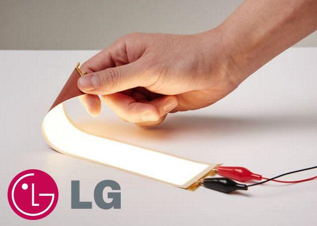 Las nuevas pantallas OLED de LG son realmente flexibles