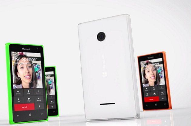 Lumia 435 y Lumia 532