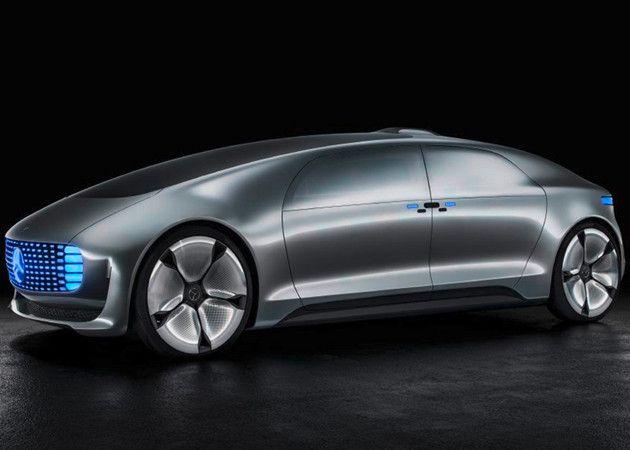 Mercedes-Benz muestra su coche sin conductor F 015