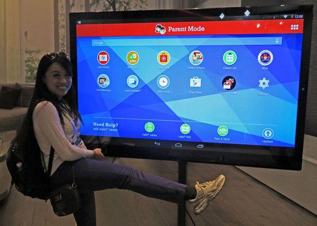 Tablet 4K Android con Tegra X1 de ¡65 pulgadas!