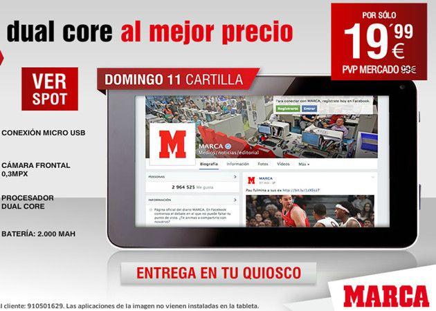 tablet Marca