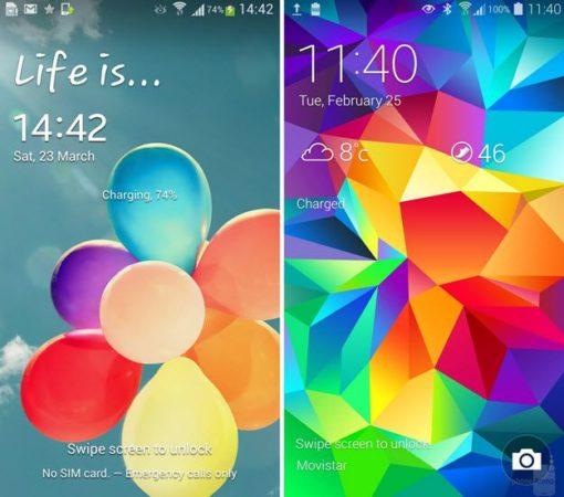 TouchWiz en el Galaxy S6