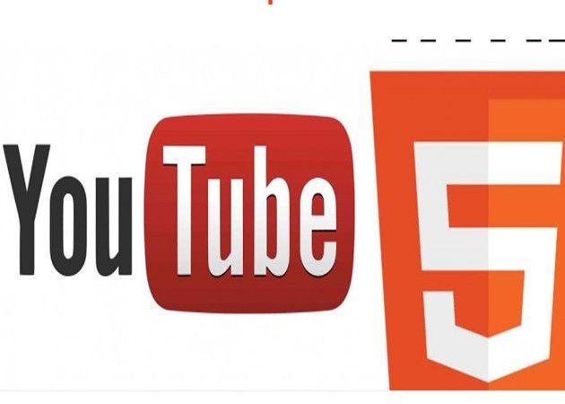 YouTube ya usa HTML5 por defecto