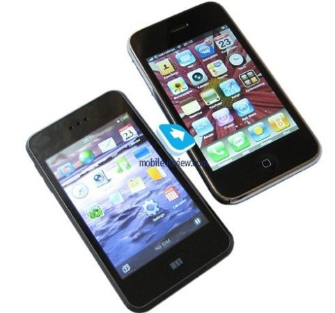 clon del primer iPhone