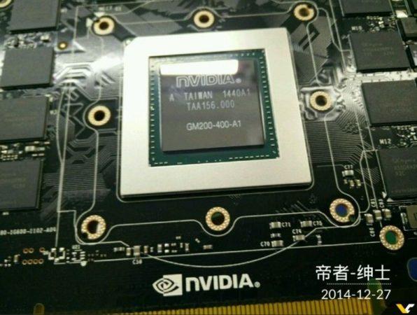 Primeras imágenes del GM200, especificaciones