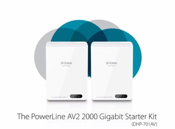 D-Link presentó nuevos kits PowerLine en el CES