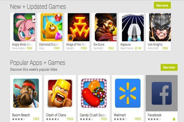 Google Play tiene más aplicaciones que la App Store
