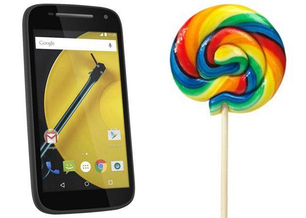 Android 5.0.2 empieza a llegar a los Moto E en India y Brasil