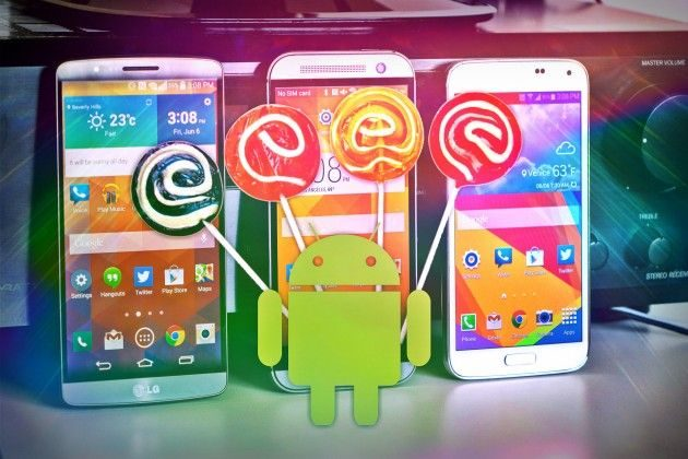 Android 5.1 para smartphones