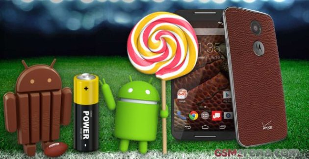Android Lollipop y KitKat