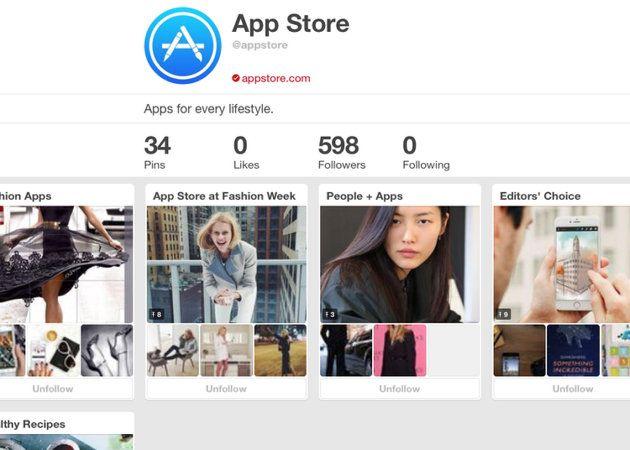 App Store de Apple en Pinterest