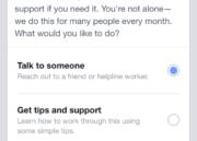 Ayuda al usuario que posiblemente esté pensando en suicidarse - Facebook