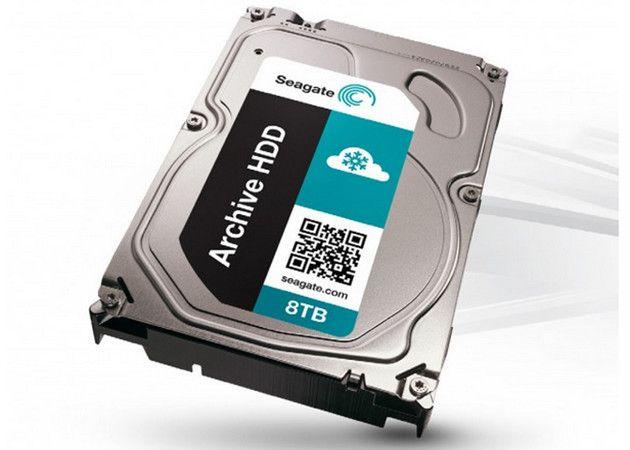 A la venta el disco duro Seagate 8 TB