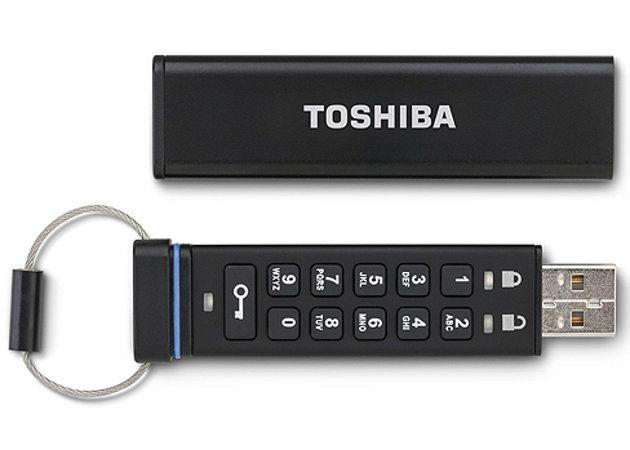 Toshiba lanza una memoria USB con cifrado a través de hardware
