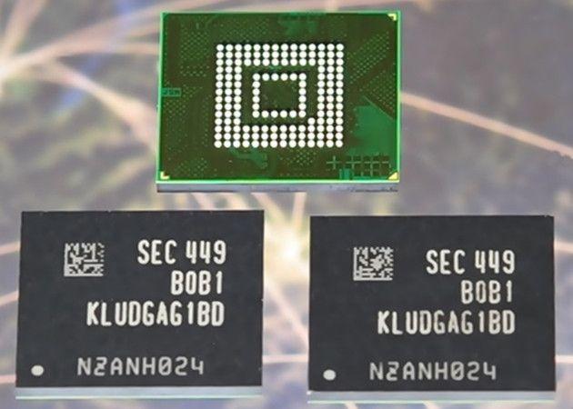 Memorias Samsung UFS 2.0: más velocidad y capacidad para móviles
