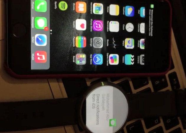 Un desarrollador consigue mostrar notificaciones de iOS en Android Wear