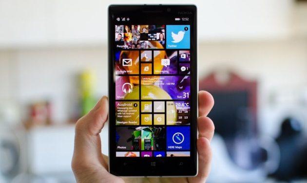 Windows 10 para smartphone