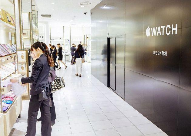 Apple abrirá una tienda de relojes en unos grandes almacenes de lujo ubicados en Tokyo